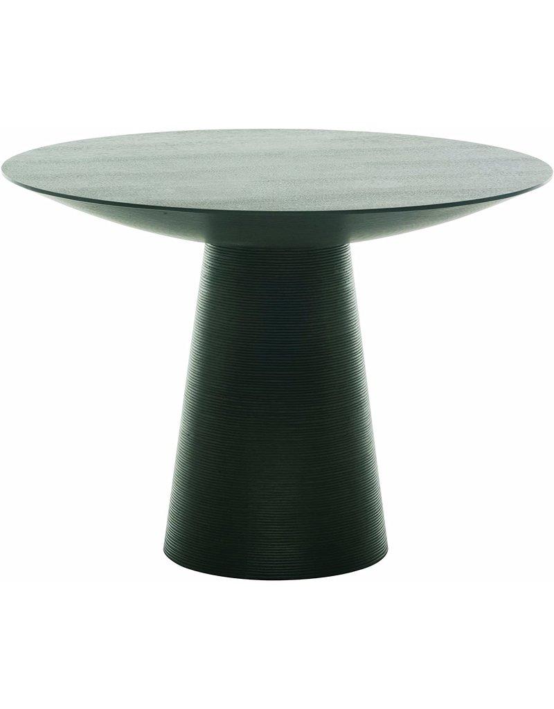 Studio District Dania Small Black Oak Dining Table
