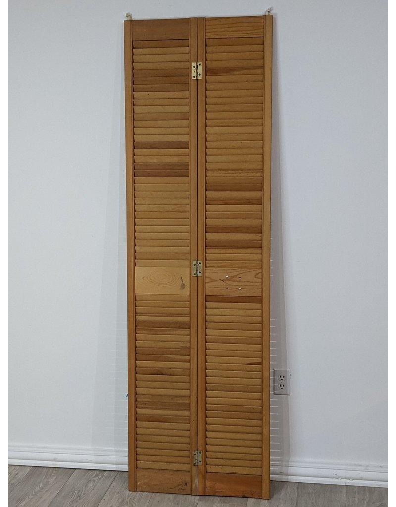 Newmarket California Shutter Style Bifold Door 23.5x77