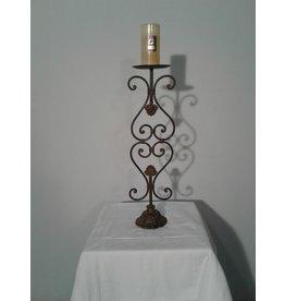 Woodbridge Large Wrought Iron Candle Holder