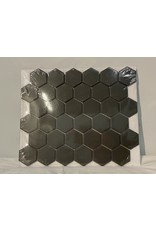 Woodbridge Charcoal Hexagon Porcelain Mosaic Tile