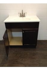 Uxbridge Bathroom Vanity and Cupboard