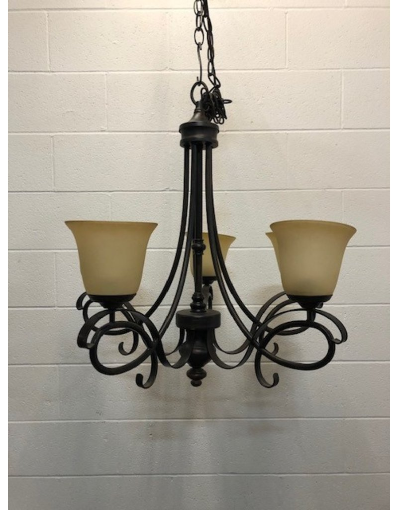 Uxbridge 5 Light Metal Chandelier