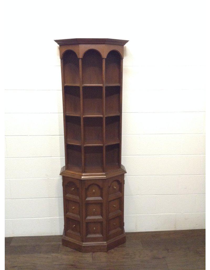 """Uxbridge 70"""" Wooden Display Cabinet"""