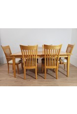 Oshawa Dining Table Set Solid Wood