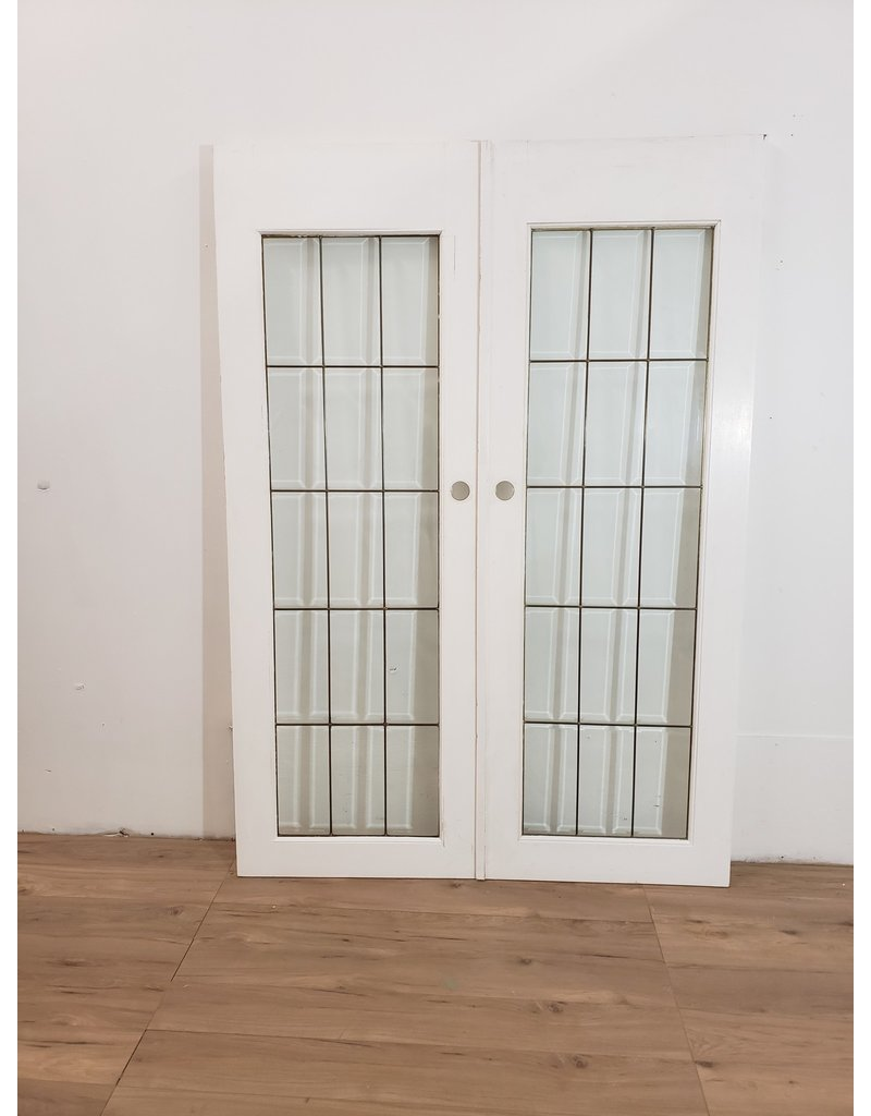 Oshawa French Door White Set