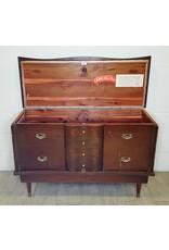 East York Cedar lined chest with velvet drawer