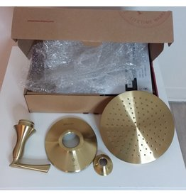 Vaughan Pfister Rhen 1-Handle Shower Only Trim in Brushed Gold