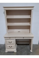 Etobicoke Beige Desk with Book Shelf