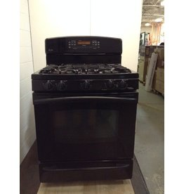 Uxbridge GE Profile Black Gas Stove