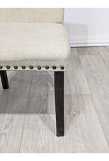 Newmarket Fabric Studded Chair
