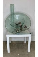 East York Glass Pedestal Sink