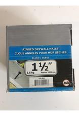 """North York 1-1/2"""" Ringed Drywall Nails"""