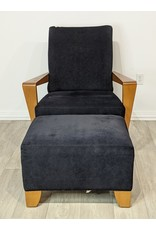 Newmarket Arm Chair and Ottoman