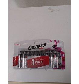 Oshawa Energizer Batteries 20 Pack