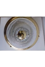 North York Gold and Glass Light Fixture