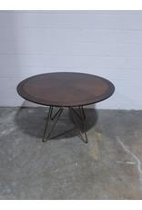 Etobicoke Dining Table With Metal Base