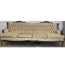East York French provincial four seat sofa