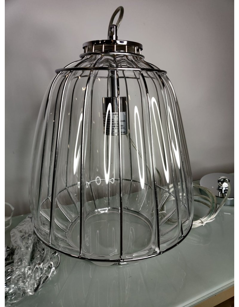Markham West Bubbled Pendant Light