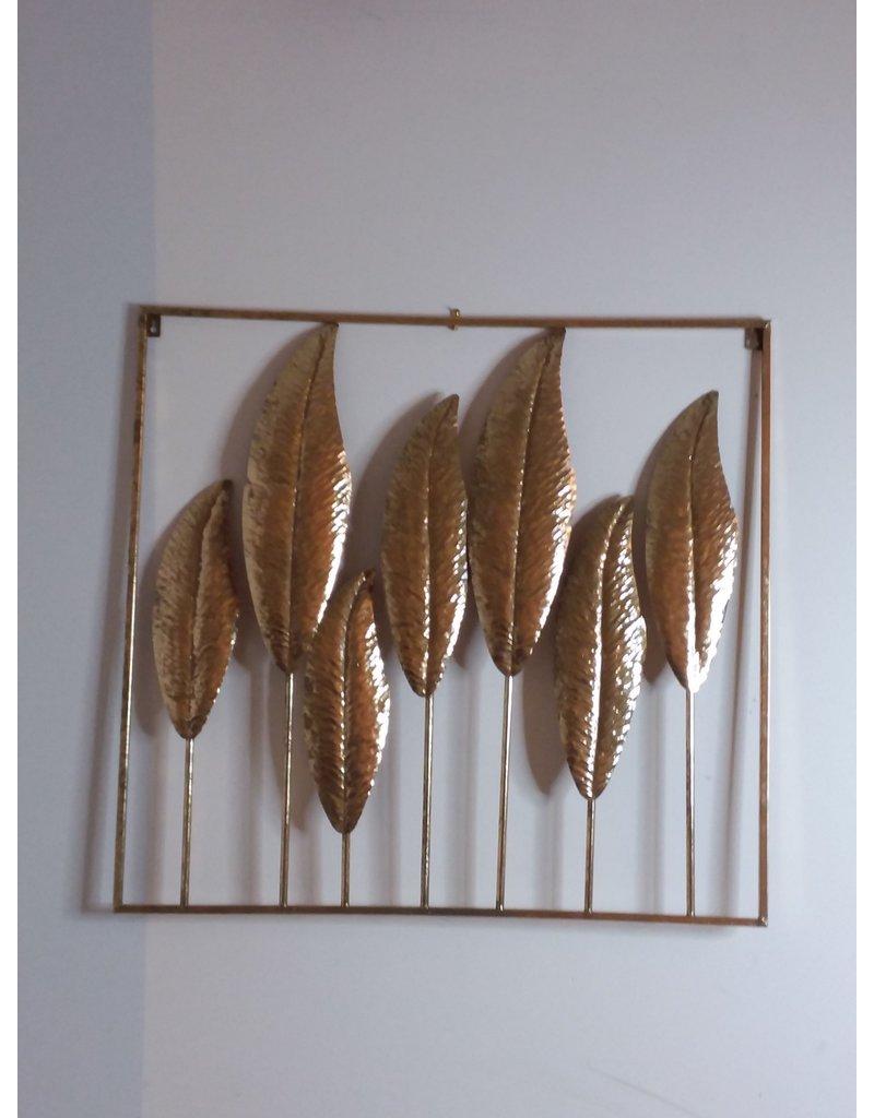 Vaughan 7 Gold Leaves Wall Art