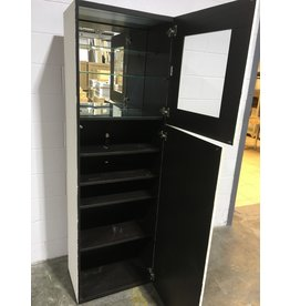 Tall Display Storage Cabinets
