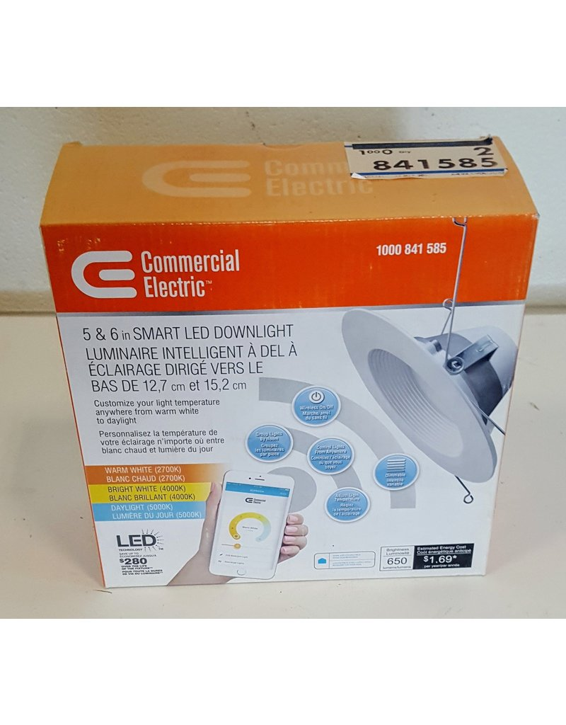 East York 5 & 6 Inch LED downlight