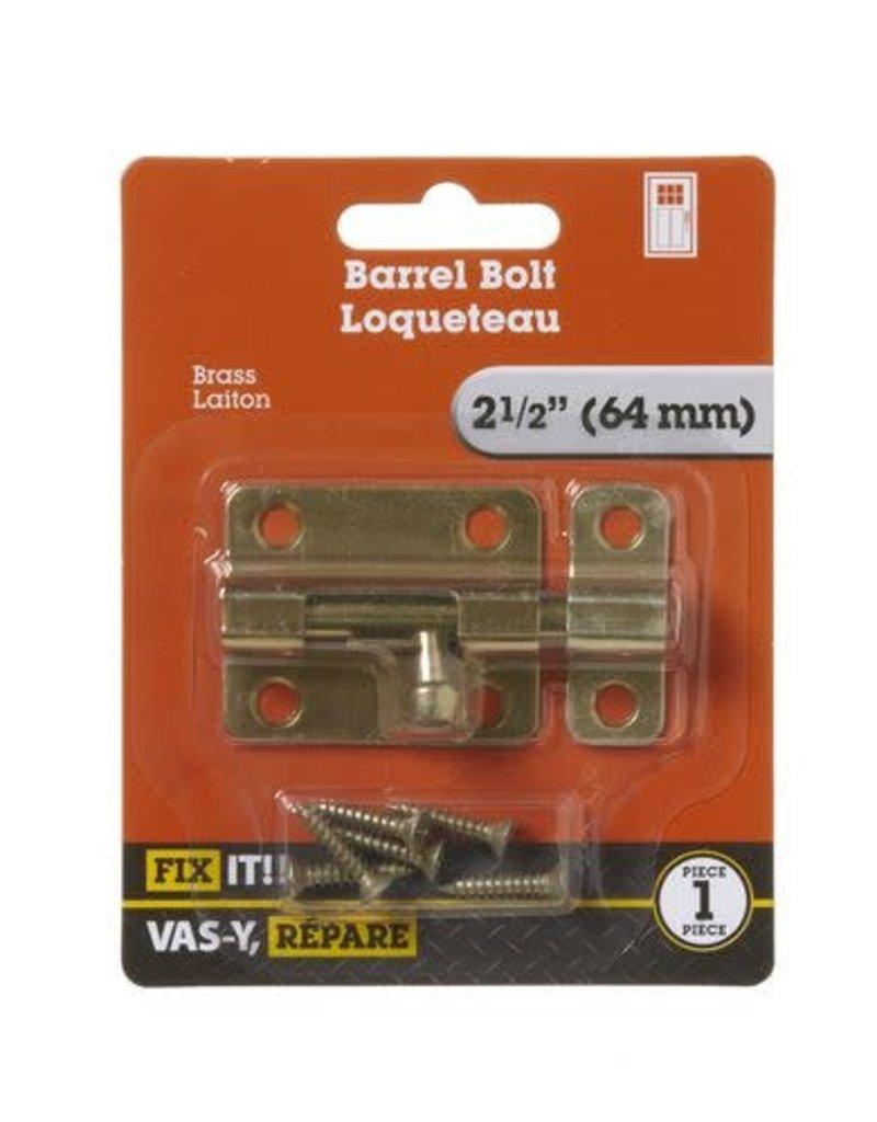 Brampton Barrel Bolt Brass