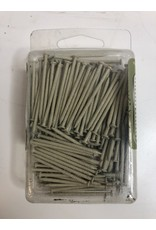 "North York 1-5/8"" Ivory Panel Nails"