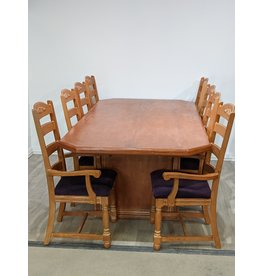 Newmarket Eight Chair Dining Set