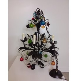 Vaughan Classic Chandelier with Glass Fruit and Crystals