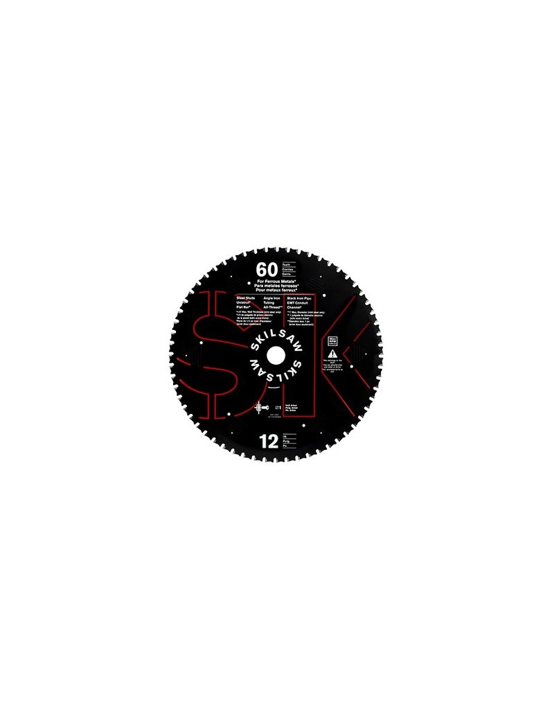 "Brampton 12"" X 60T Dry Cut Metal Blade"