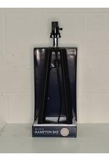 East York 25.5 inch H Matte Black Metal Table Lamp Base