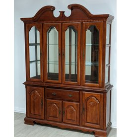 Newmarket Wooden and Glass Hutch