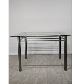 Newmarket Glass Bistro Dining Table