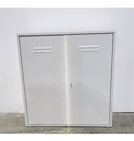 Etobicoke White Cabinet With Doors