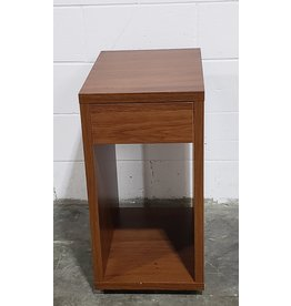 Etobicoke Wooden End Table With Drawer