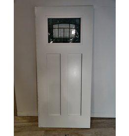 Markham West Croxley Craftsman Smooth Fiberglass Exterior Door