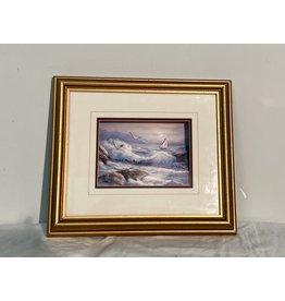 Woodbridge 3D Ocean Picture in Frame