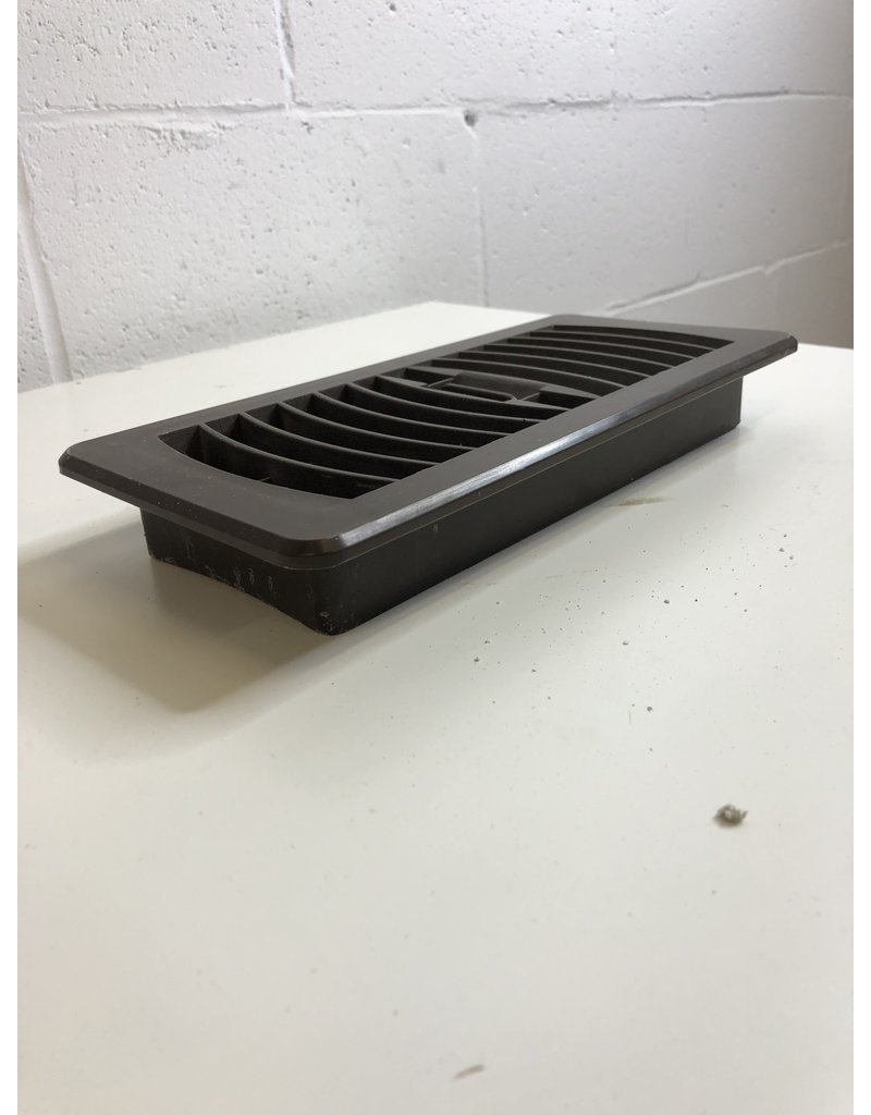 North York Brown Plastic Vent Cover