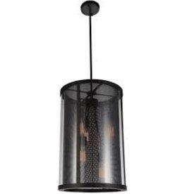 Studio District Souris 5 Light 15 inch Reddish Brown Down Pendant Ceiling Light