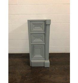 """Uxbridge 14.5"""" Grey Side Bathroom Cabinet"""