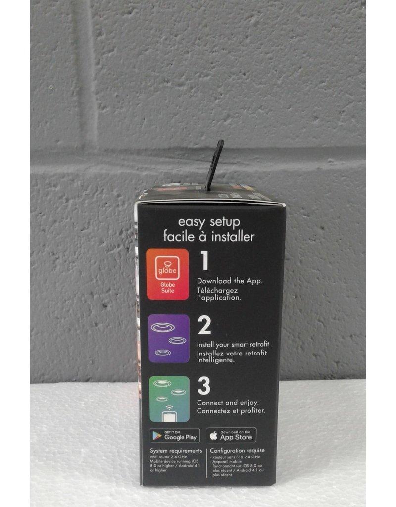 Brampton 10W LED Retrofit Recessed Light with Multicolor Changing