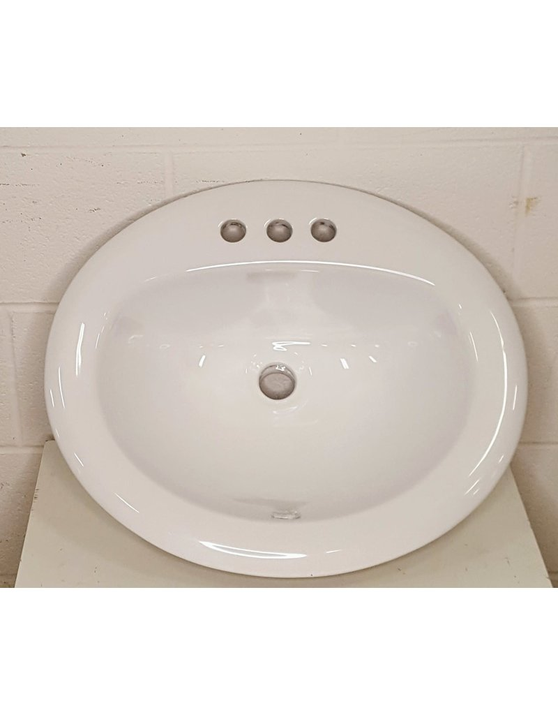 East York Bathroom sink - white
