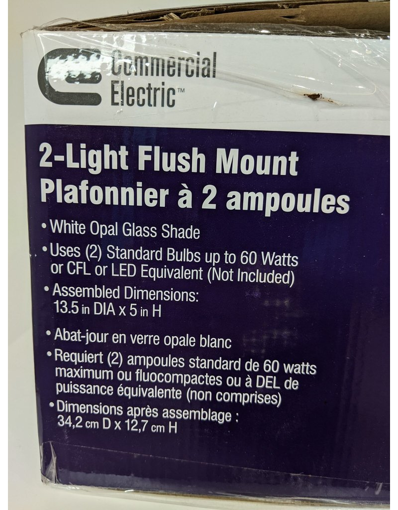 Newmarket 2 Light Flush Mount
