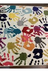 Woodbridge 5'x8' Handprint Area Rug