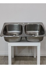 Newmarket 50/50 Stainless Drop-in Sink
