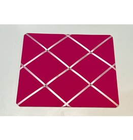 Woodbridge Pink Photo Board