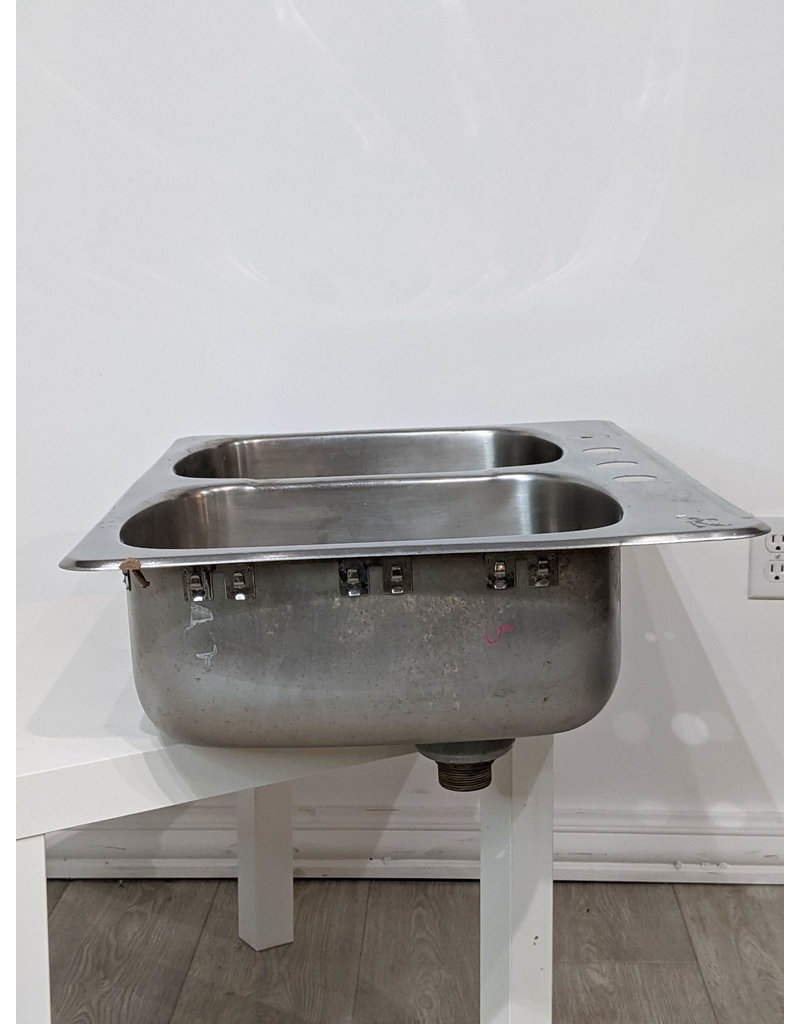 Newmarket 50/50 Stainless 4-Hole Drop-in Sink