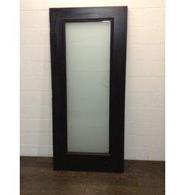 Uxbridge Black Full Lite Exterior Door