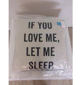 Vaughan Love - Printed Linen Cushion