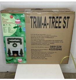 East York Trim a Tree Pre Lit Christmas Garland Kit